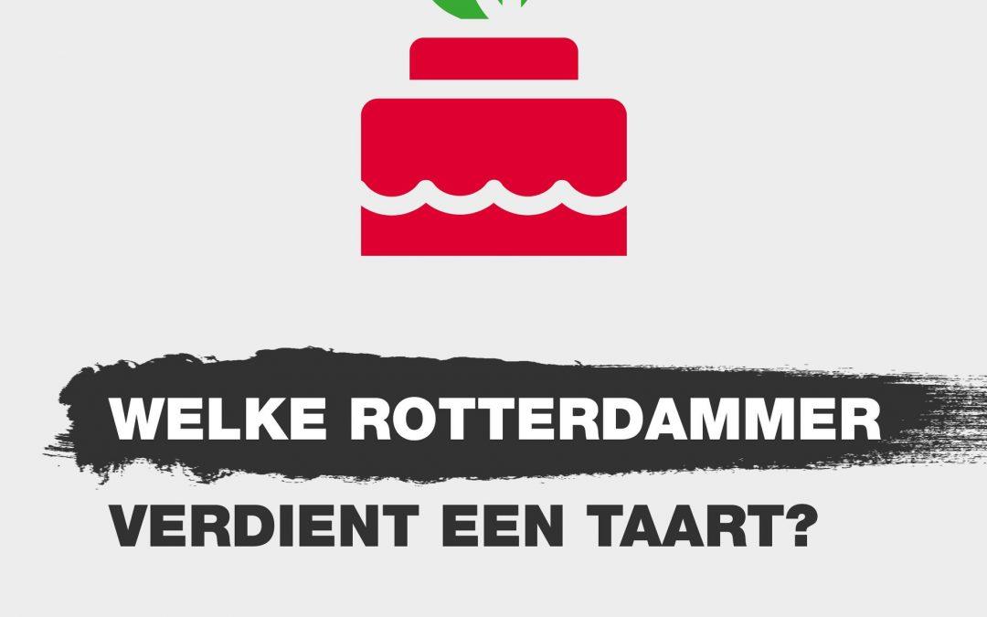 TAART VOOR MEET & ART! Rotterdammers MET initiatieven